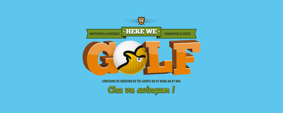 Here we golf... Cha va swinguer !