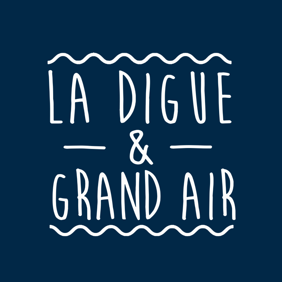 La digue et grand air