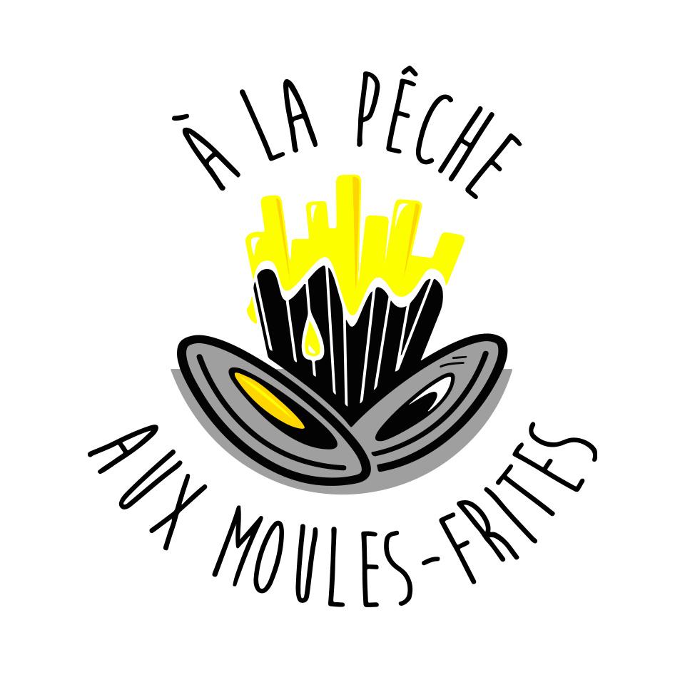 visuel a la pêche aux moules-frites | concours de graphistes