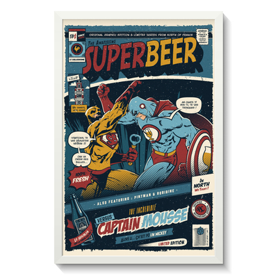 SUPERBEER VERSUS CAPTAIN MOUSSE